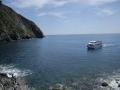 Waiting for the ferry in Riomaggiore